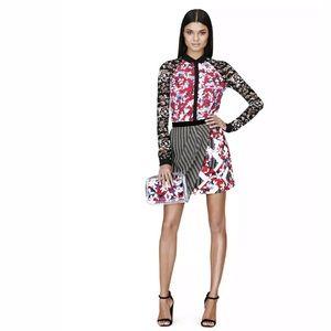 Peter Pilotto for Target Faux Wrap Skirt Sz 8
